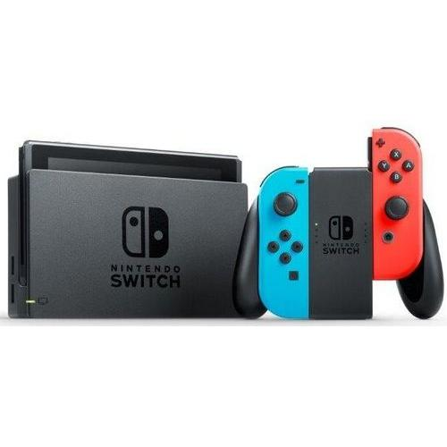 Nintendo Switch 32GB [incl. controller roodblauw] zwart