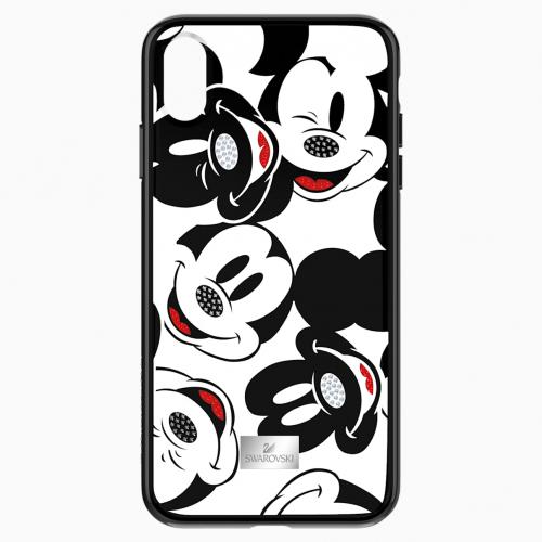 Mickey Face Smartphone Case with integrated Bumper, iPhone® XS Max, Black