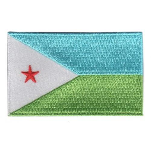 vlag patch Djibouti