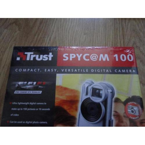 Te koop: camera, webcam en video in 1 (spycam van Trust)Nw