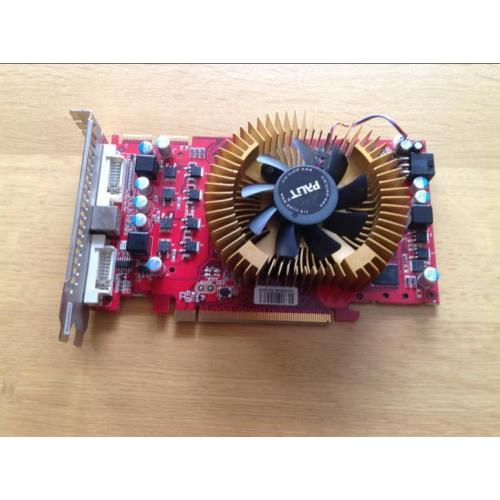 Videokaart Radeon HD4850 PCI-E 512MB DDR3 TV-OUT 2DVI