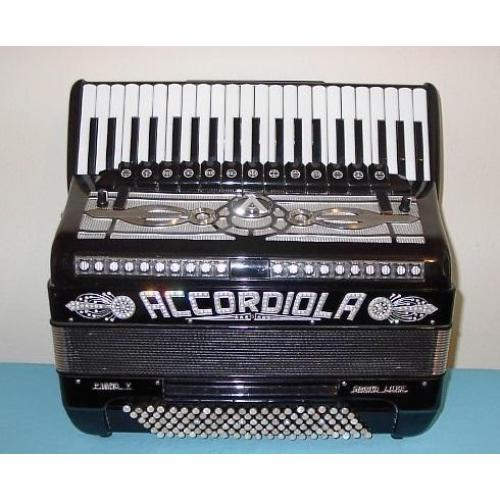 Accordiola Piano V Grand Luxe 120 bas 5 korig