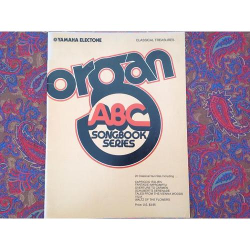 Organ abc songbook.
