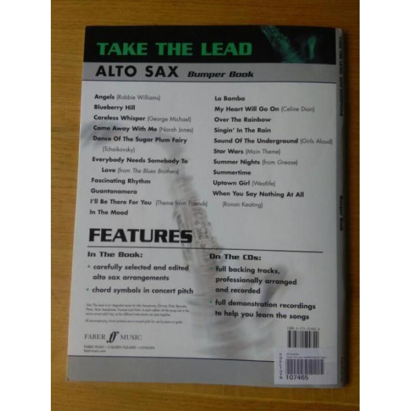 Take the Lead - alt saxofoon