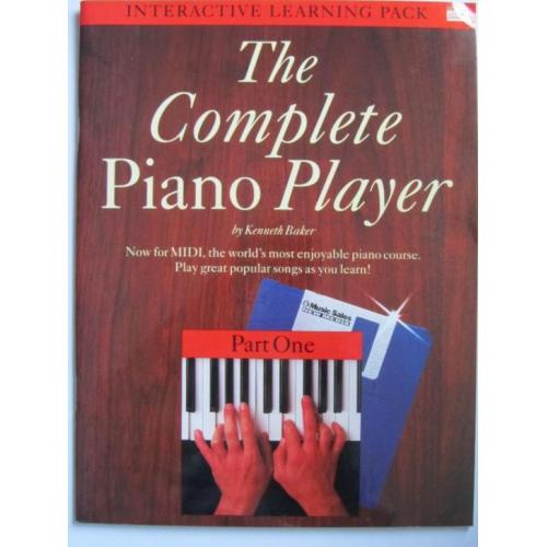 THE COMPLETE PIANO PLAYER - PART 1 *Oude Bladmuziek 1992