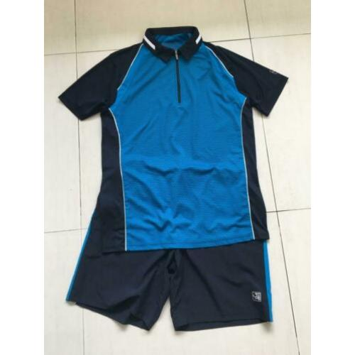 Sjeng Sports tennis shirt+broek maat L