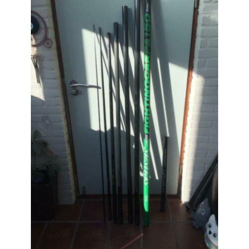 Sensas fighting carp 150 incl. extension, 11m lang