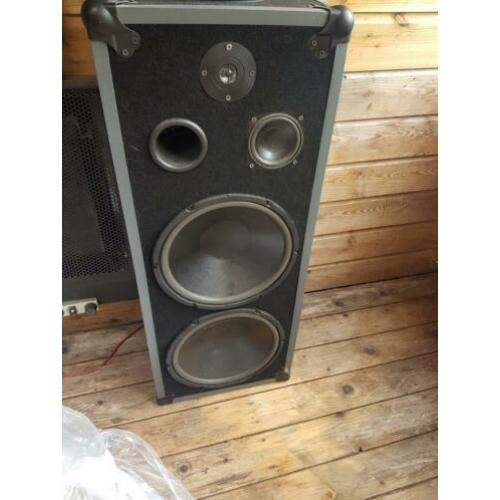 Visatone speakers 300 tot 400 watt