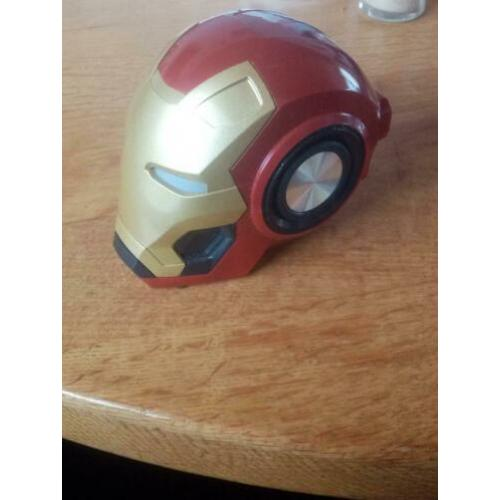 Iron Man Bluetooth Speaker & Radio Draadloze Bluetooth V4.2