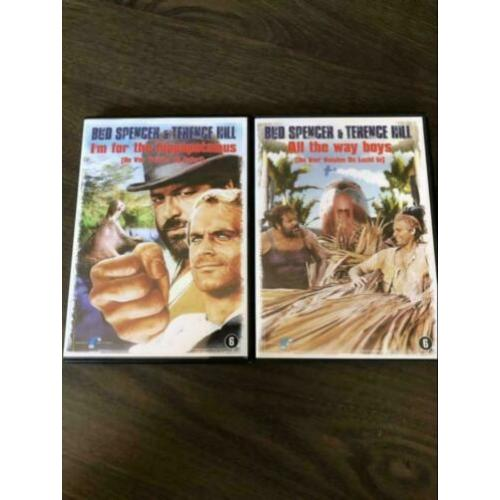 Bud Spencer & Terence Hill DVD's