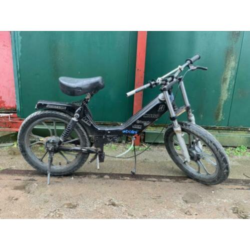 Tomos cross frame