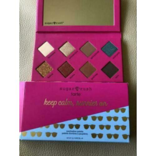 Tarte Sugar Rush-keep calm sunnies on palette- Nieuw!