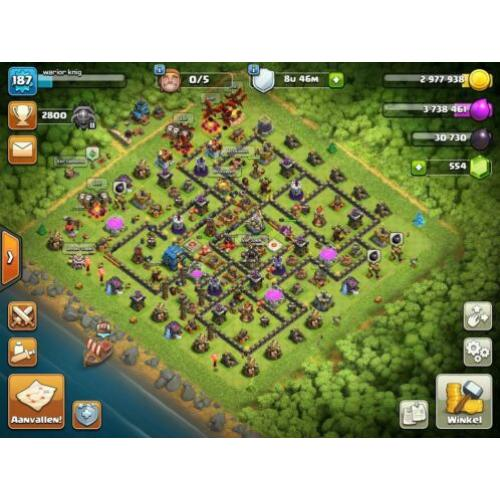 Clash of clans account | th12