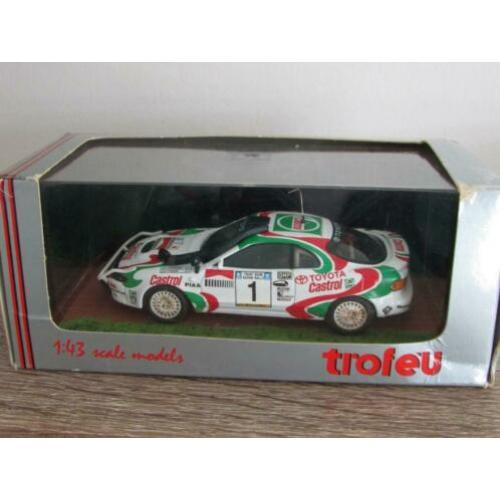 Troféu 053 1:43, Toyota Celica 4x4 Safari Rally 1993, Dirty