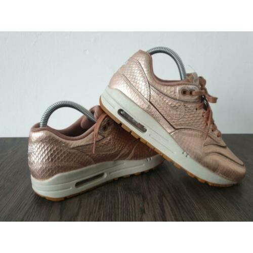 Nike Air Max 1 Bronze Snake Cut Out 37.5