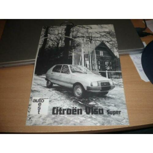 CITROEN VISA SUPER Auto test uit 2 - 1979