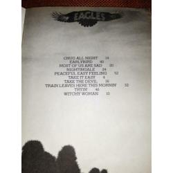 Eagles, Desperado, Lyrics, 1973.