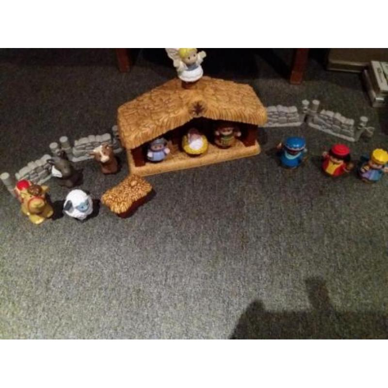 FISHER PRICE Little people kerststal.