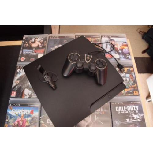 Playstation 3 + 14 games + accesoires